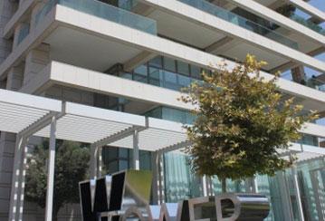 שיפור קליטה סלולרית מגדלי W תל אביב